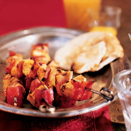 Yogurt plays a vital role in Indian cooking. In this dish, the yogurt serves as a marinade, adding creaminess, rich flavor and naturally tenderizing the chicken. Recipe: Tandoori Kebabs