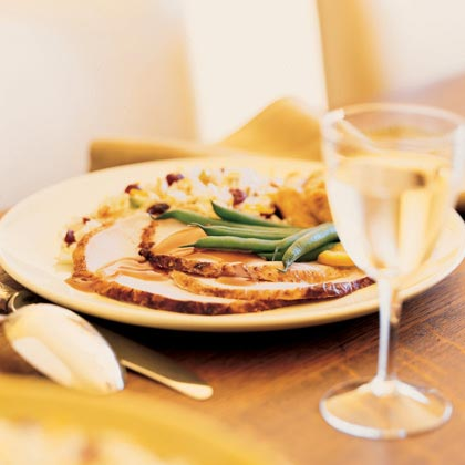 Brined Turkey Breast with Cranberry JusRecipe