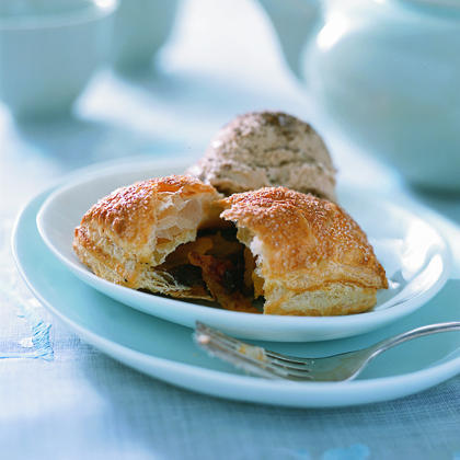 Apricot and Chocolate Pastry PillowsRecipe