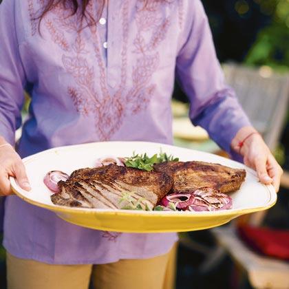 Grilled Salted Beef Brisket or Flank Steak