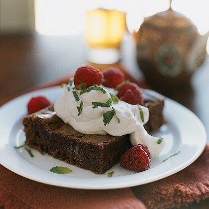 Dark Chocolate-Chunk BrowniesRecipe