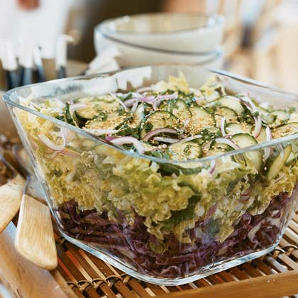 Sesame-Cabbage Salad