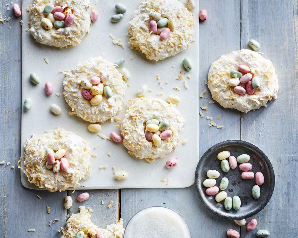 Coconut Nest Cookies