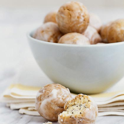 Lemon-Poppy Seed Doughnut Holes