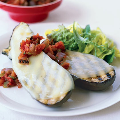 Grilled Eggplant Provolone Recipe