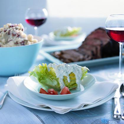 Iceberg Salad with Buttermilk DressingRecipe