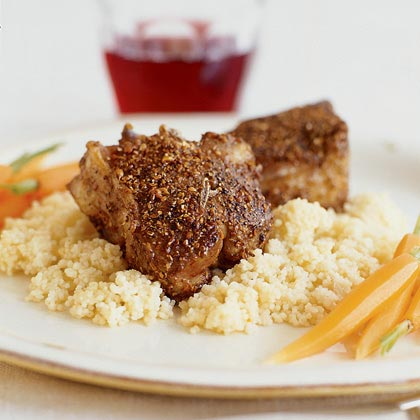 Spiced Lamb ChopsRecipe