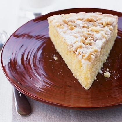 Polenta and Pine Nut Torte Recipe