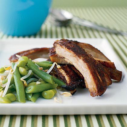Grilling ribs is easy with a rub of a few simple spices.Baby-Back Ribs Recipe
