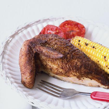 Butterflied Tea-Smoked ChickenRecipe