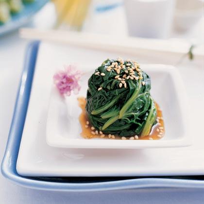 Sesame Spinach SaladRecipe