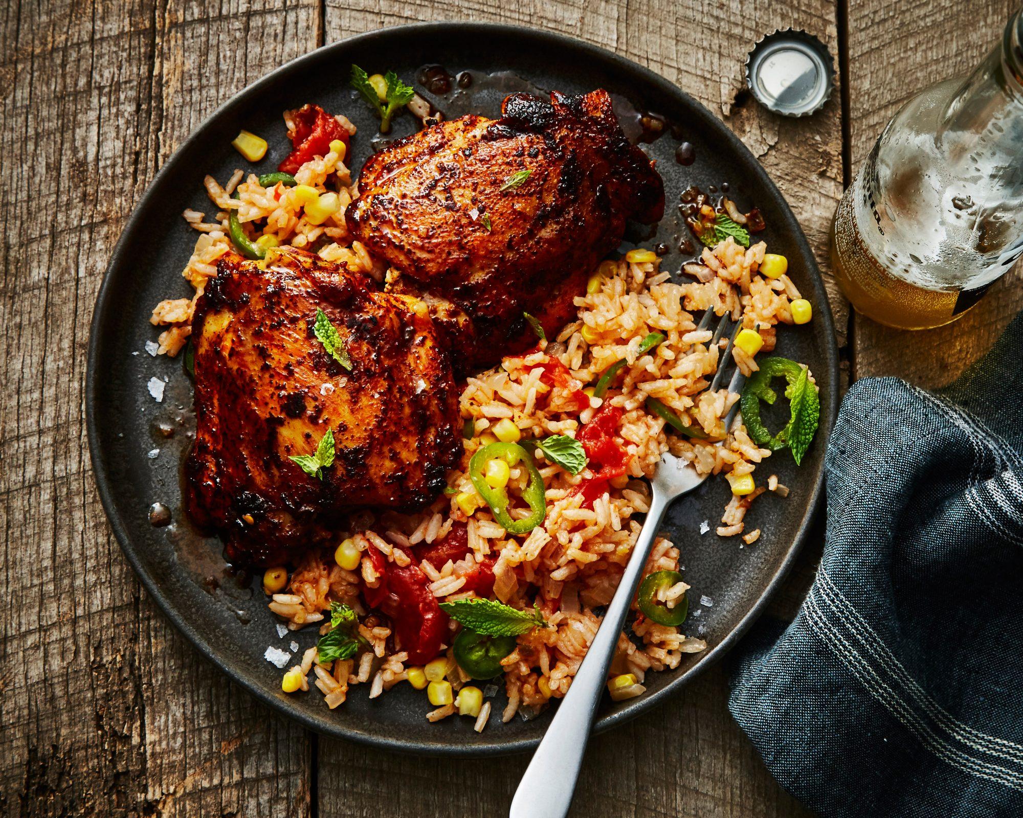 Chicken With Rice Arroz Con Pollo Recipe Myrecipes