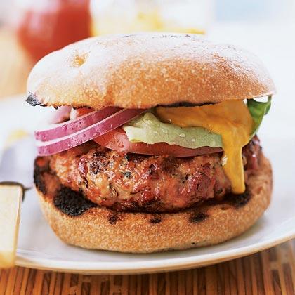 Lucques Pork Burger
