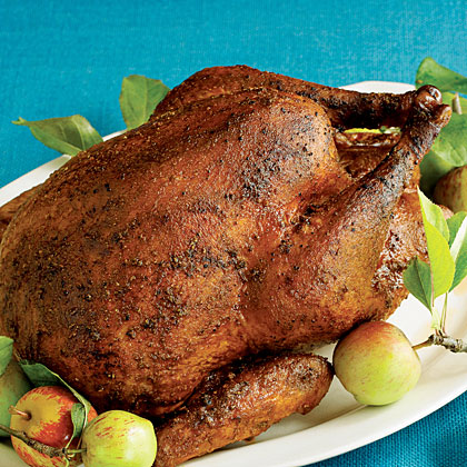 Roast Spiced Turkey Recipe