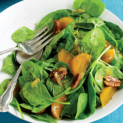 Spinach and Persimmon Salad Recipe