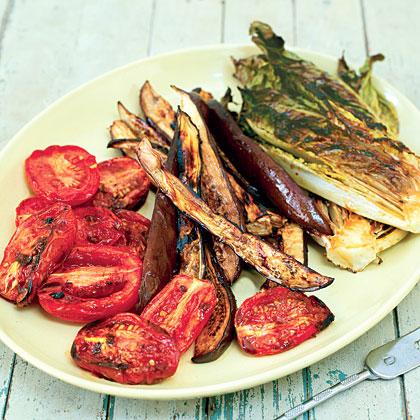 Grilled-Eggplant Salad