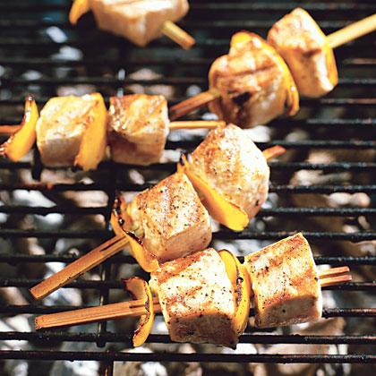 Fish Kebabs Recipe