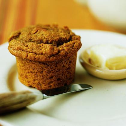 Pumpkin Cornmeal Muffins Recipe