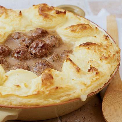 Meatball Shepherd's Pie
