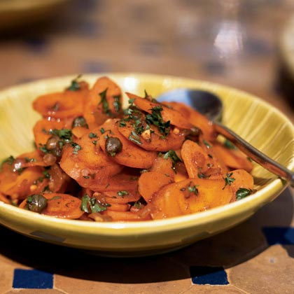 Carrots with Paprika and Capers