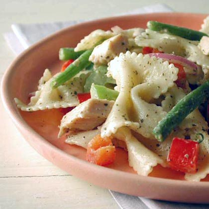 Peppery Chicken Pasta Salad