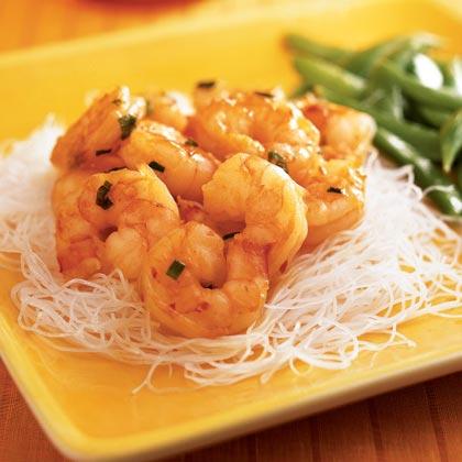Chile-Glazed Shrimp
