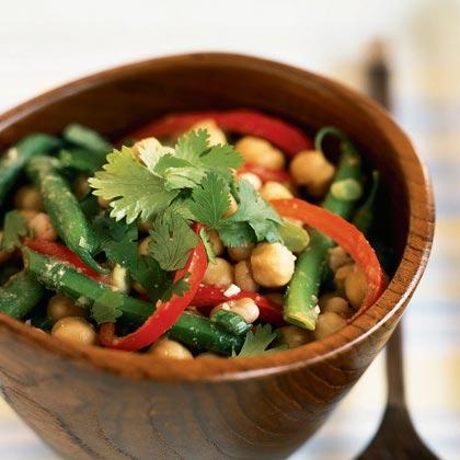Mixed Beans with Hoisin Vinaigrette