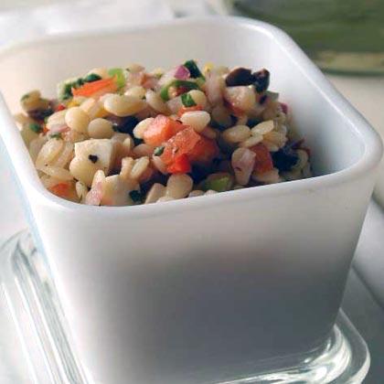 Orzo-Bell Pepper Salad