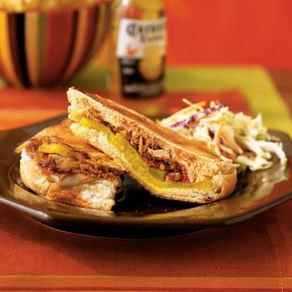 Chipotle Pulled-Pork Barbecue SandwichesRecipe