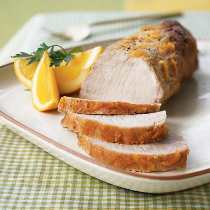 Orange-Brined Pork Loin