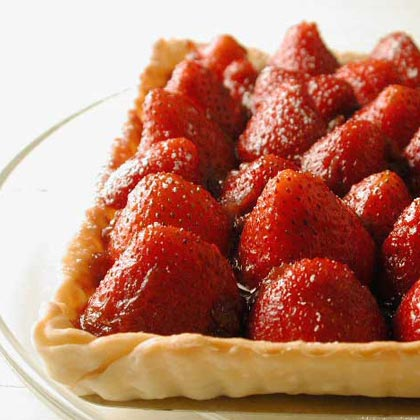 Strawberry-Rhubarb Tart Recipe