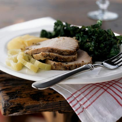 Roast Pork Porchetta-Style Recipe