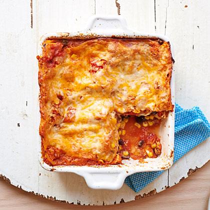 <p>Tex-Mex Lasagna</p>