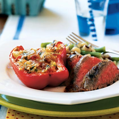 Italian Stuffed Summer Vegetables