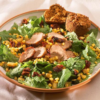 Southwestern Corn Salad with Pork