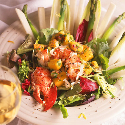 Lobster-Mango Salad Recipe | MyRecipes