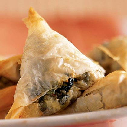 Mini-Spanakopitas (Greek Spinach Pies)Recipe