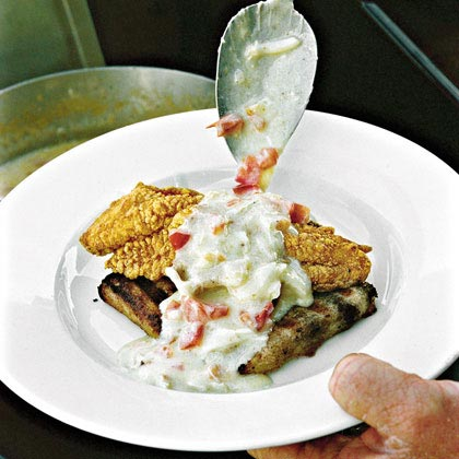 Grilled Andouille Grits Recipe