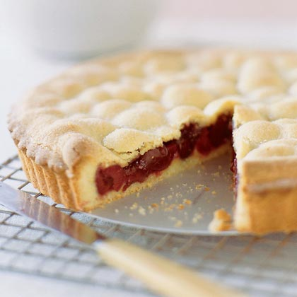 Double-Crust Cherry Tart
