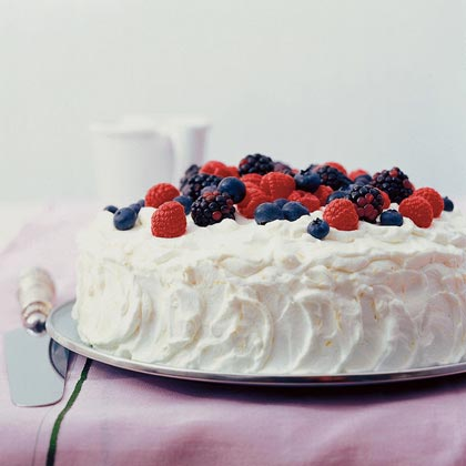 Berry-lemon Cake