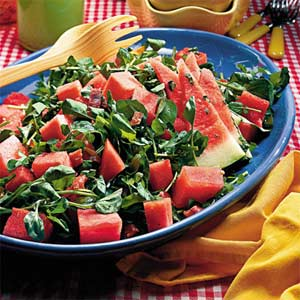 Watermelon-Prosciutto Salad Recipe