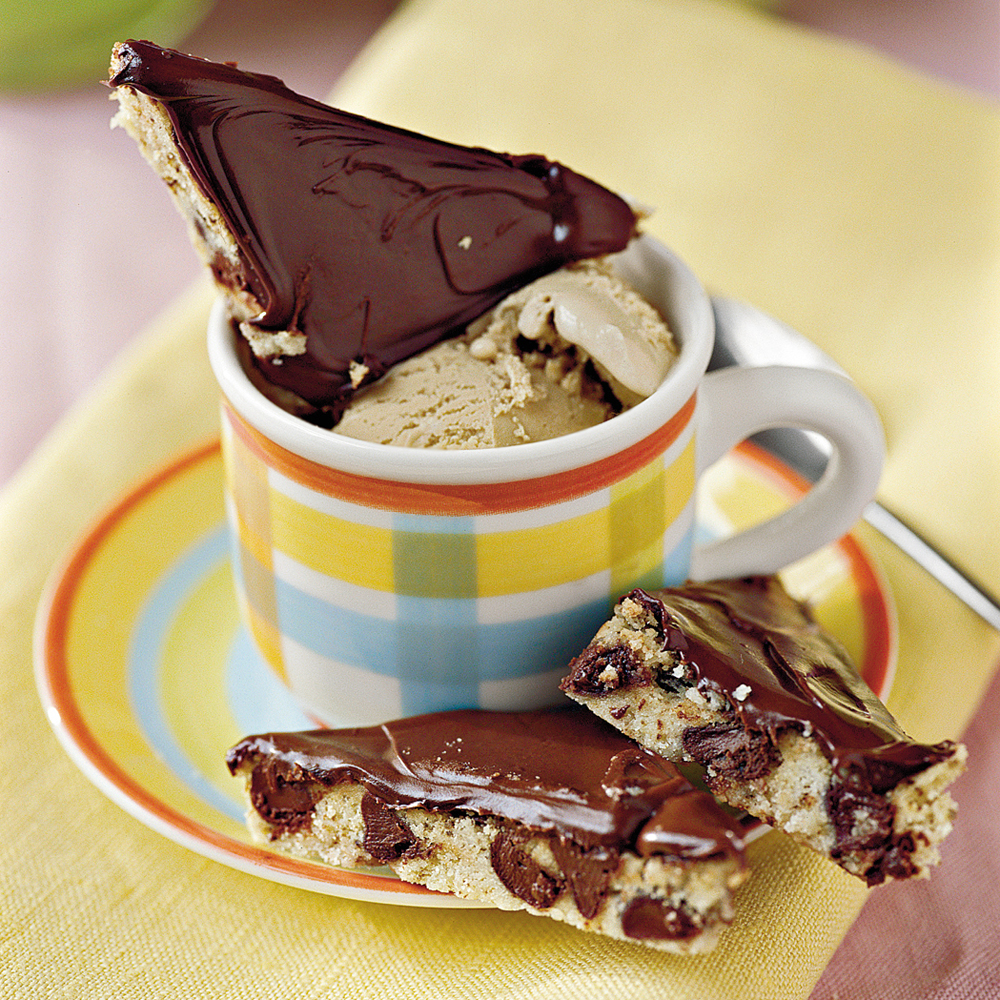 Mocha-Chocolate ShortbreadRecipe