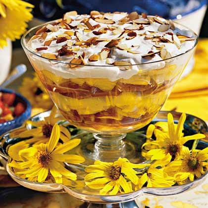 Georgia Peach Trifle Recipe