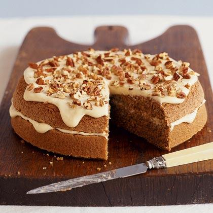 Maple Pecan CakeRecipe
