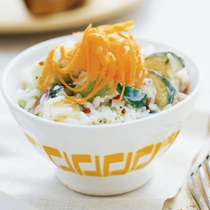 Yogurt-Rice Salad Recipe