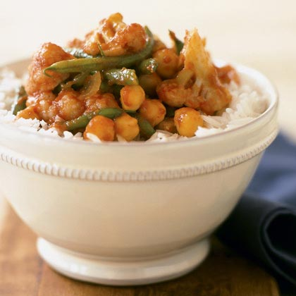Spiced Vegetables with Basmati Rice