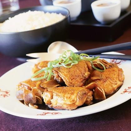 Rock Sugar Ginger Chicken (Bing Tong Gook Geung Gai)