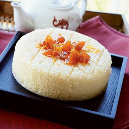Steamed Sponge Cake (Soy Zing Dan Gow) Recipe