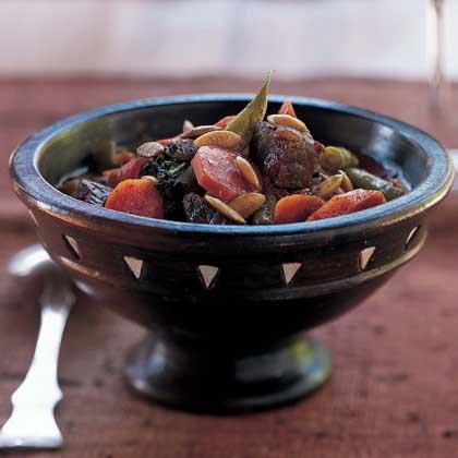 Vegetable-Beef Stew in Pumpkinseed Sauce