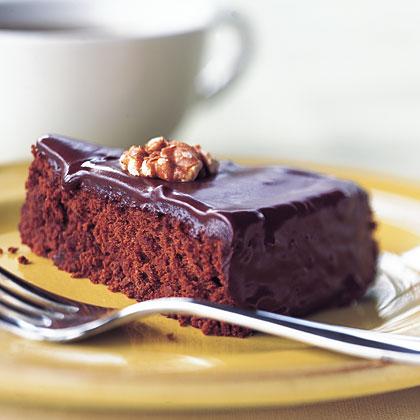 Chocolate-Walnut Cake